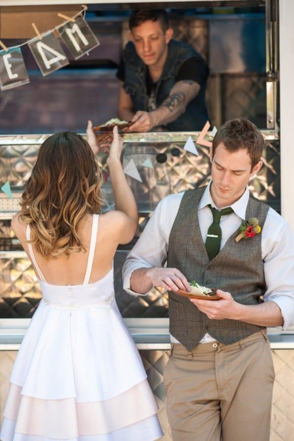 Le Food Truck : pour un repas de mariage original!