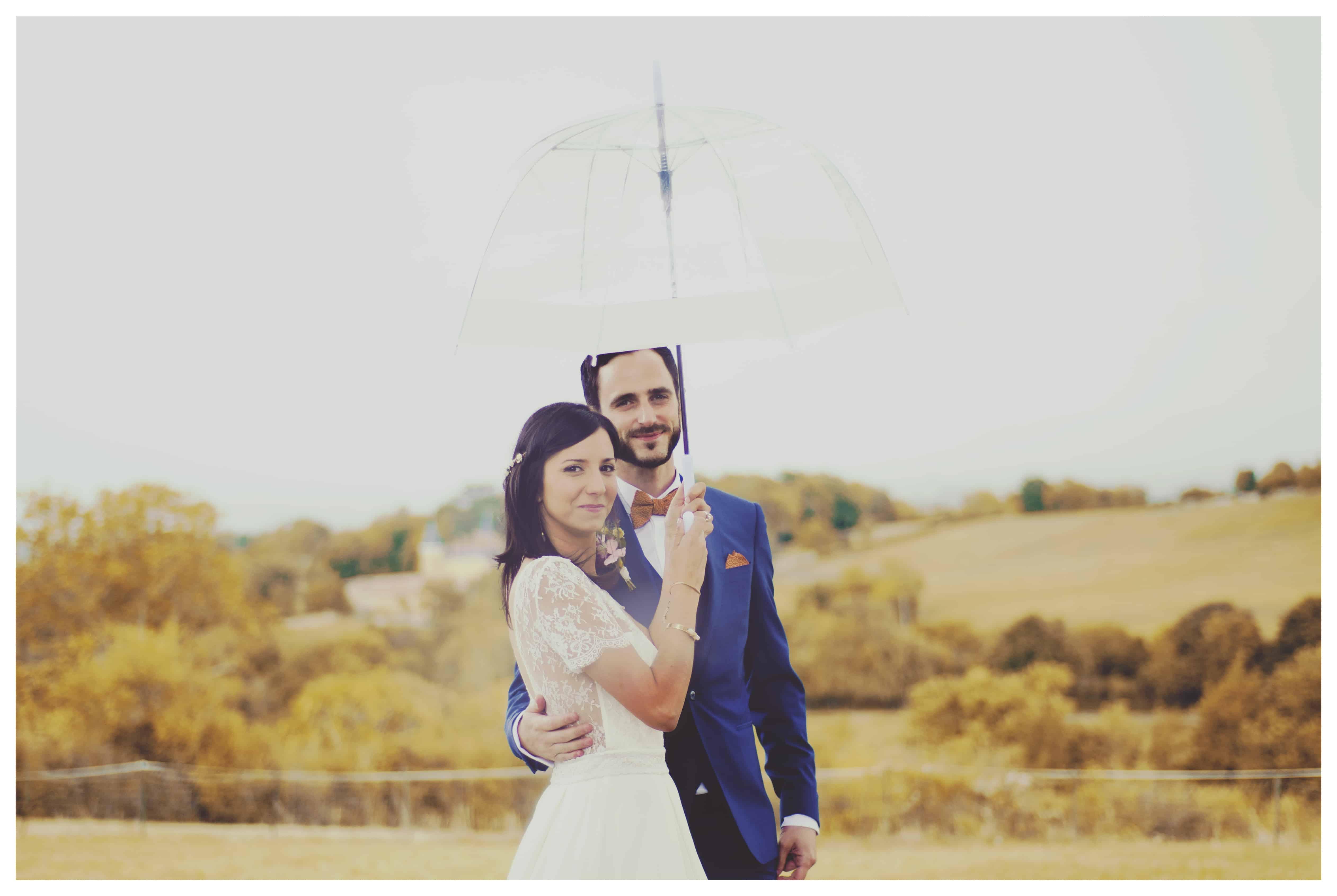Laetitia et Guillaume, un joli mariage aux couleurs automnales