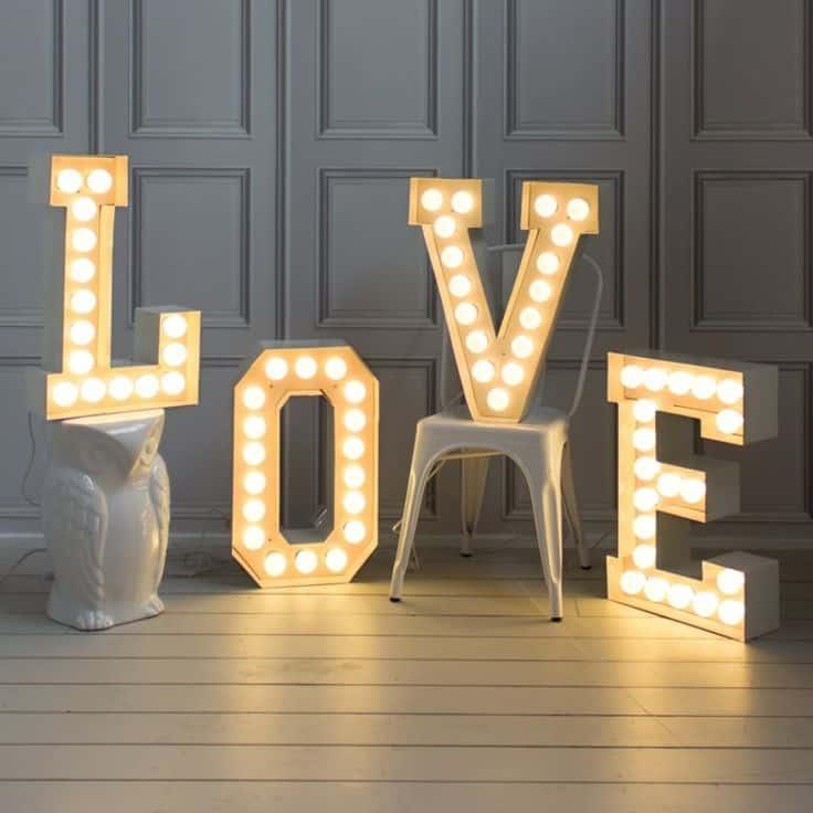 lettres love mariage scnadinave