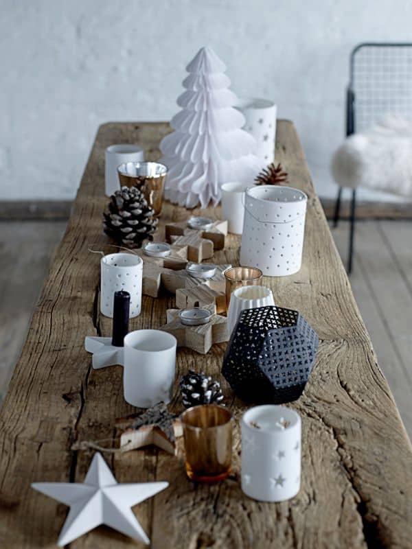 table de noel bois