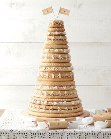 wedding cake scandinave