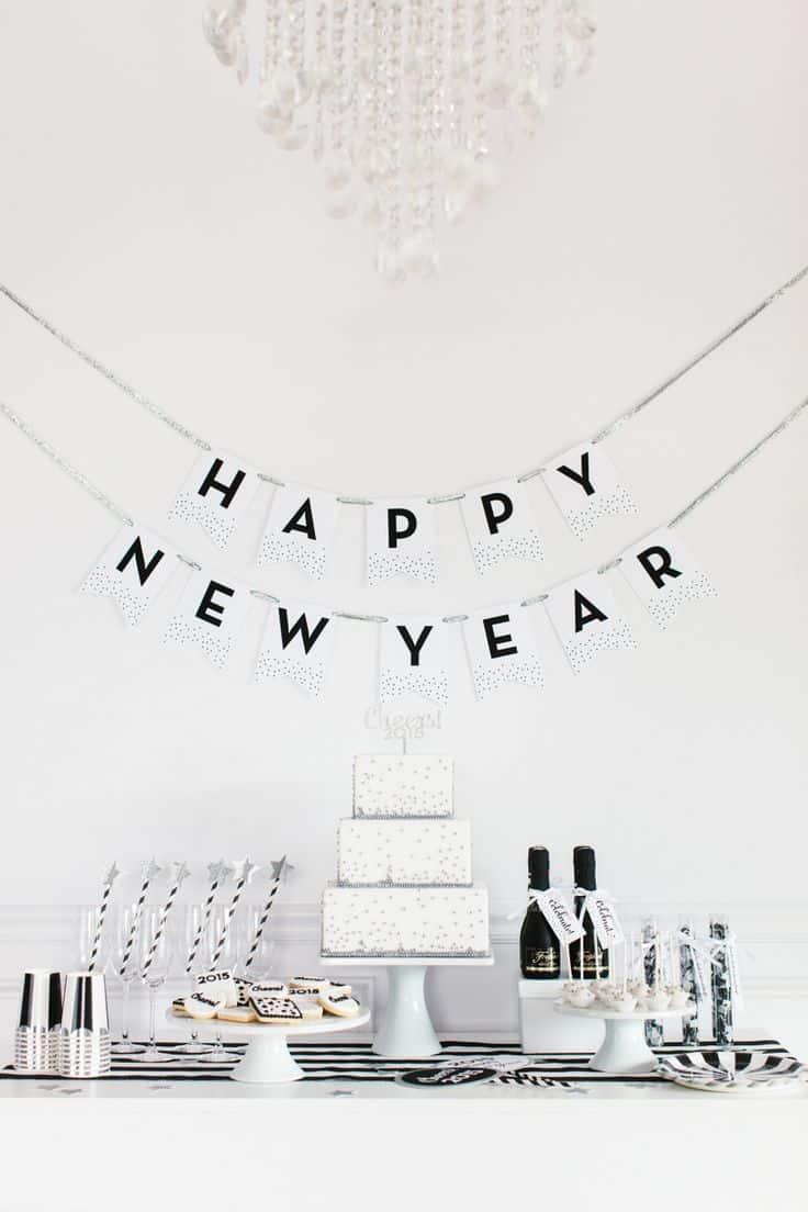 Nouvel An : des idées pour un réveillon réussi! - Save The Deco