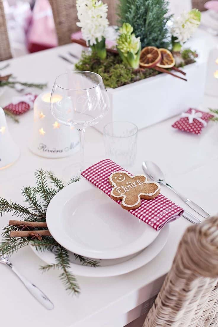 Une d co de table tendance pour no l save the deco - Decoration de noel pour table ...