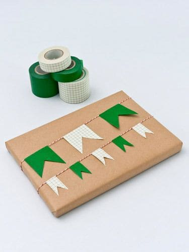 emballage cadeau masking tape