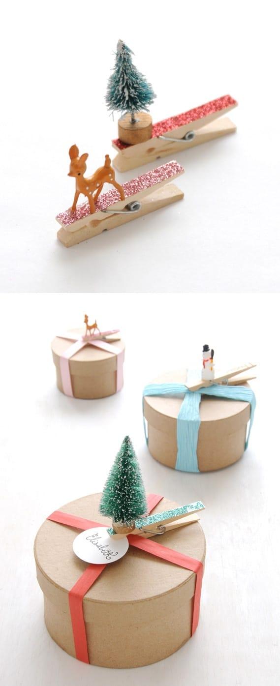 idée emballage noel