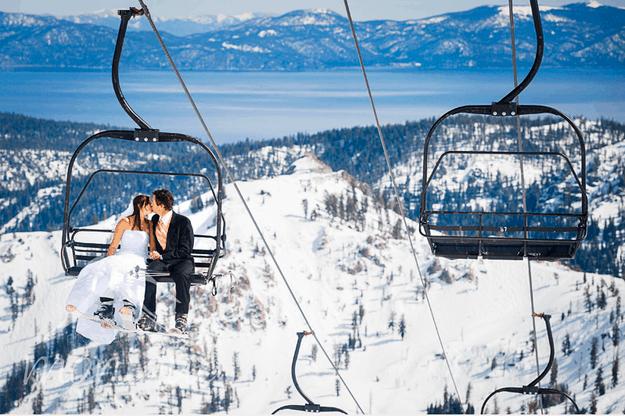Winter Wedding : Se dire «oui» à la montagne!
