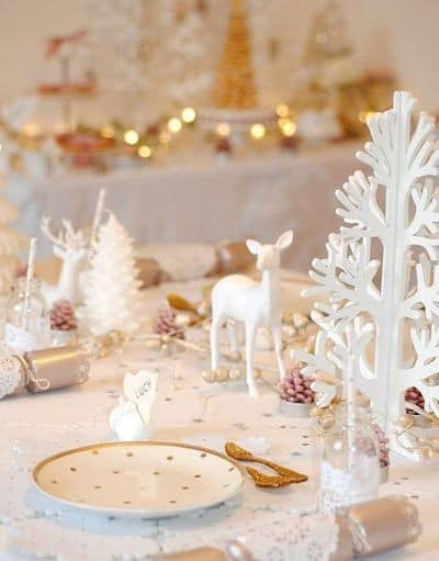 Une d co de table tendance pour no l save the deco - Pinterest table de noel ...