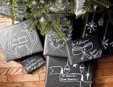 paquet cadeau original kraft