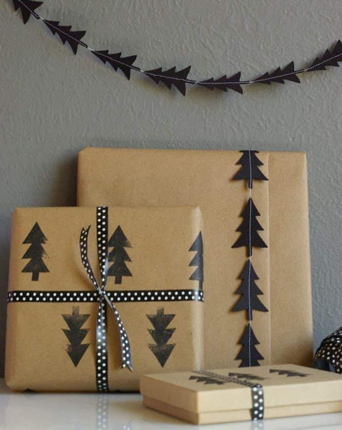 paquet cadeau original noel