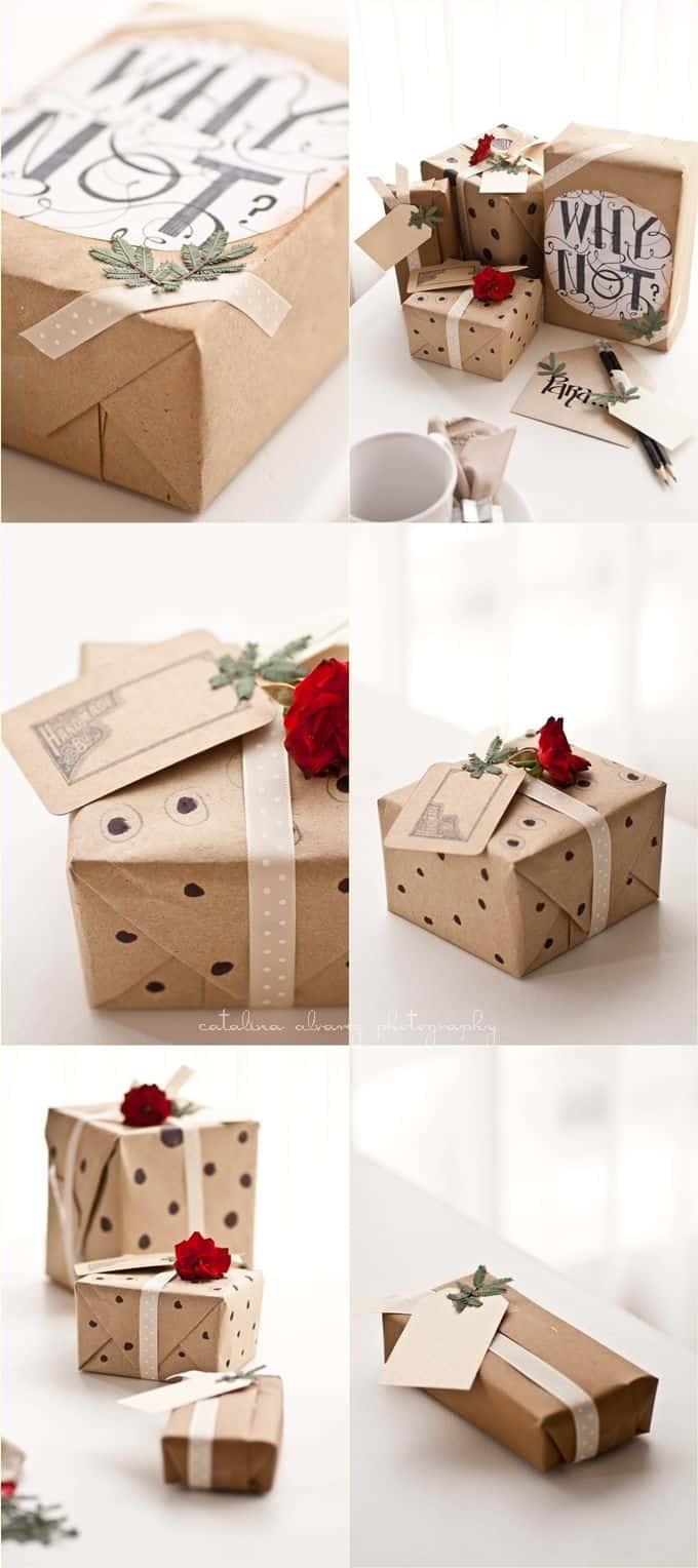 paquet cadeau original