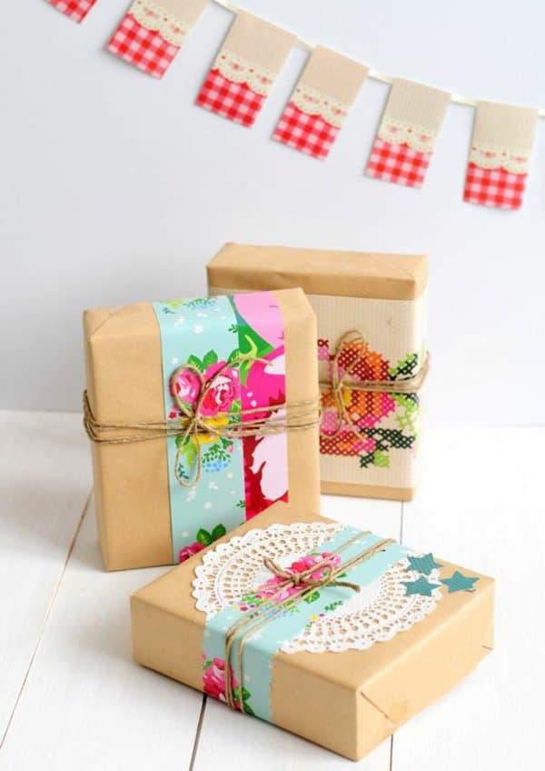 Idée DIY : Des emballages cadeaux uniques et originaux!