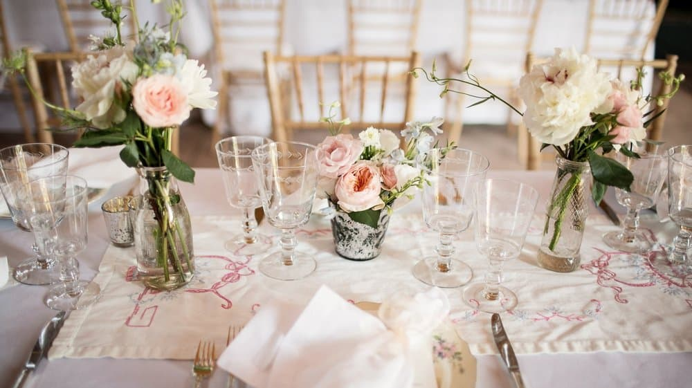 deco de table mariage vintage