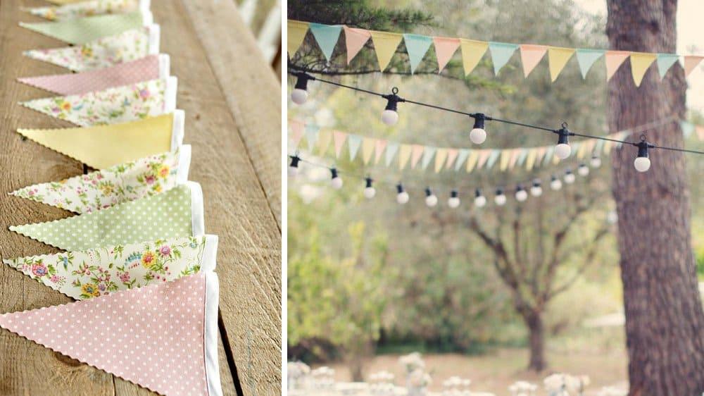 decoration jardin exterieur mariage vintage