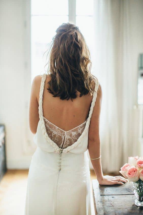 robe vintage mariée