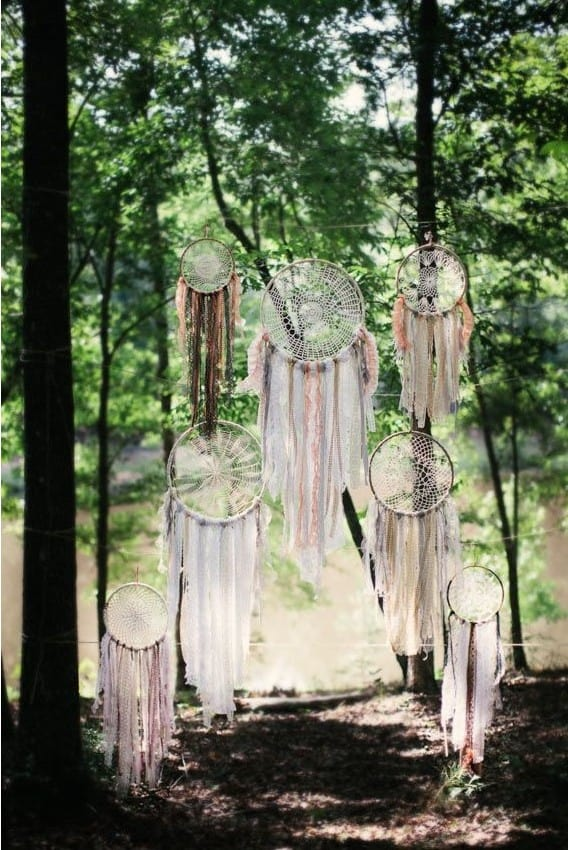 Mariage : inspiration pour une décoration de jardin originale