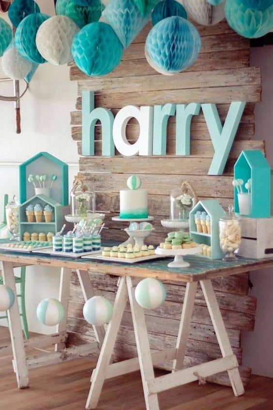 Inspiration une jolie f te de bapt me pour gar on save the deco - Idee deco table bapteme fille ...