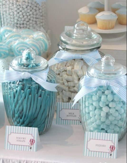 Idee De Decoration Pour Bapteme Garcon #13: Le Gâteau
