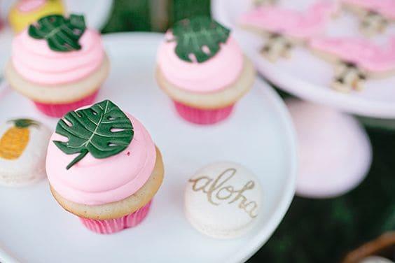 cupcake tropical