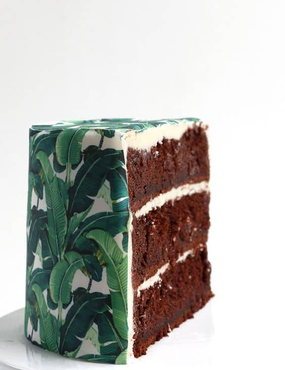 gâteau chocolat tropical