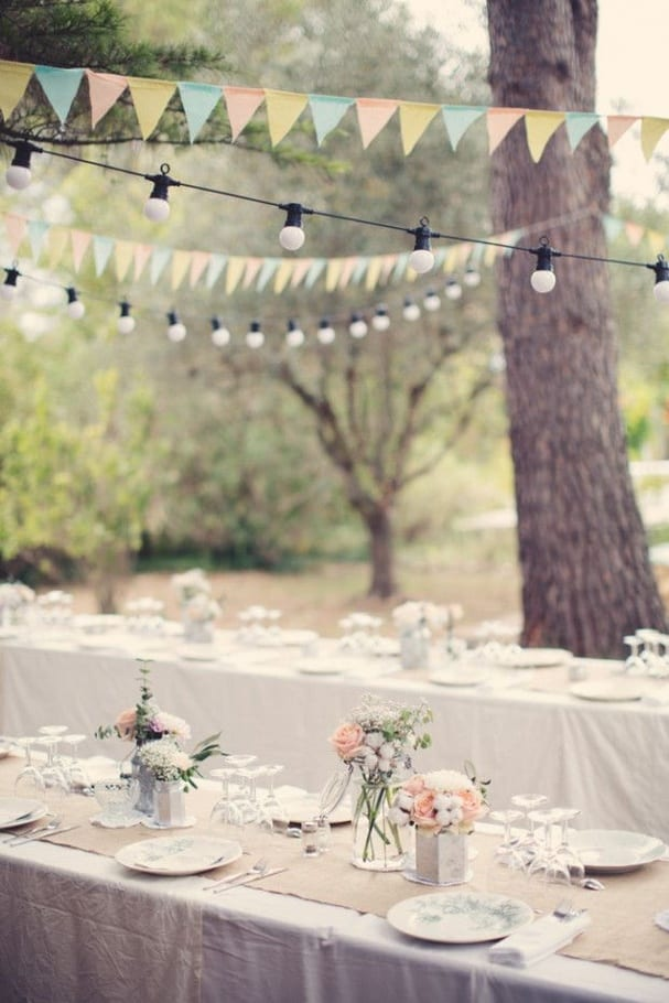 Mariage : inspiration pour une décoration de jardin ...