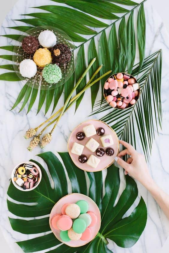 Inspiration une tropical party save the deco - Deco tropicale pour fete ...