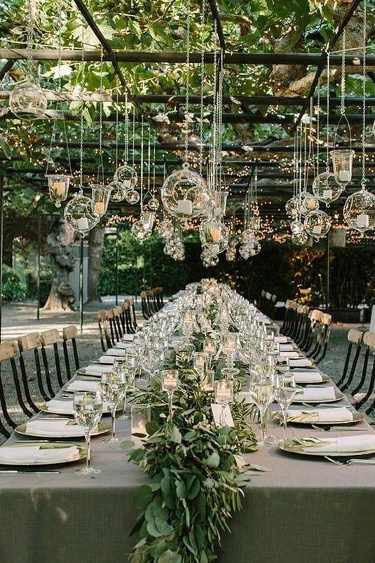 Mariage : inspiration pour une décoration de jardin originale - Save ...