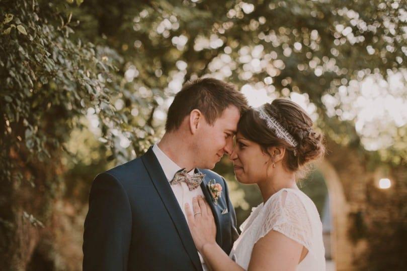 Leslie et Benjamin, ambiance bucolique pour un mariage romantique