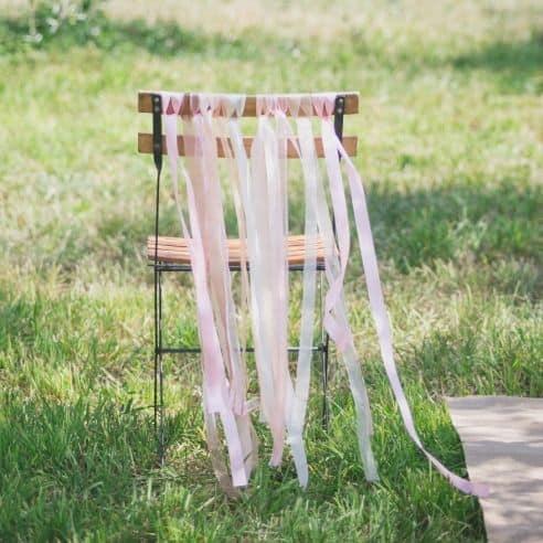 Déco mariage : six idées pour décorer vos chaises!