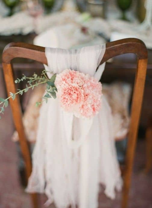Deco Chaises Mariage Tulle