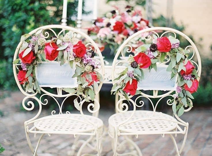 Dco Mariage Six Ides Pour Dcorer Vos Chaises Save The Deco
