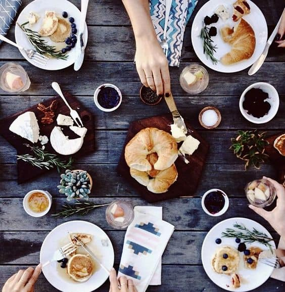 Inspiration : Une brunch party