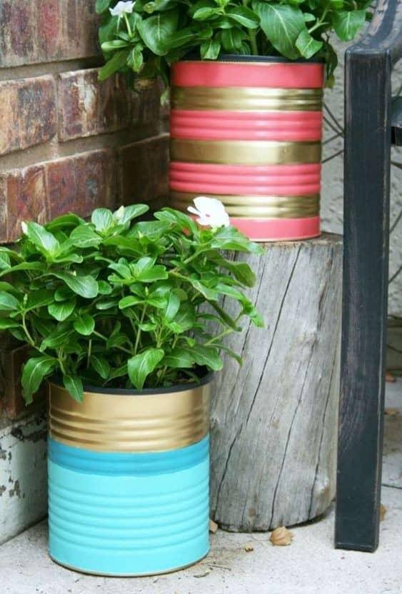 DIY : 5 idées canons pour recycler vos boîtes de conserve
