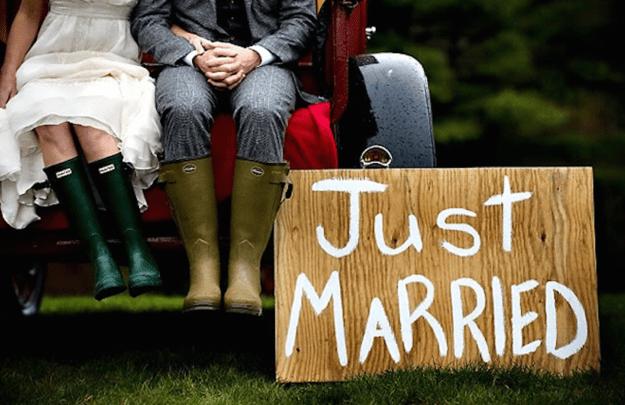Quand la pluie s'invite à votre mariage