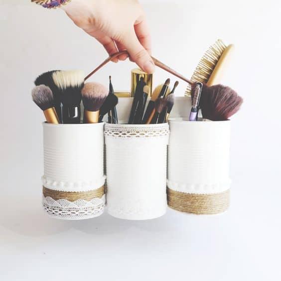 pot maquillage conserve diy