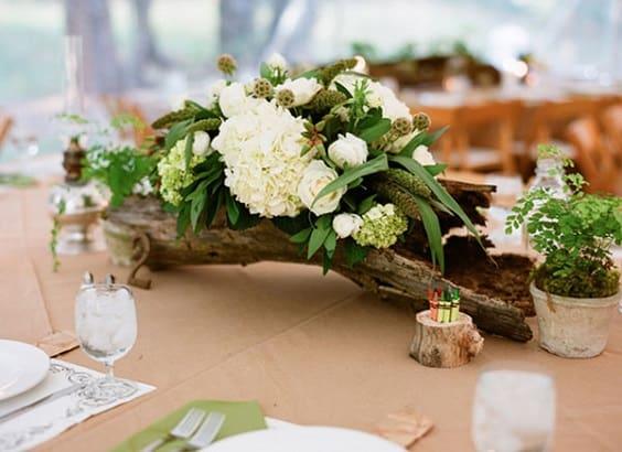 Deco Table Bois Flotté inspiration : au cœur de la décoration, le centre de table – save