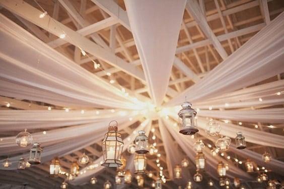 decoration-plafond-mariage-drap