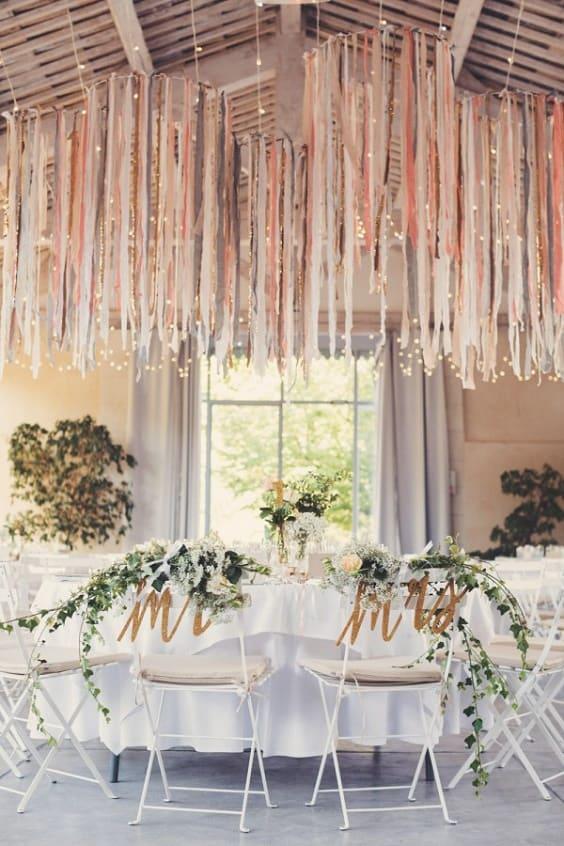 Inspiration : Décorer un plafond pour une fête