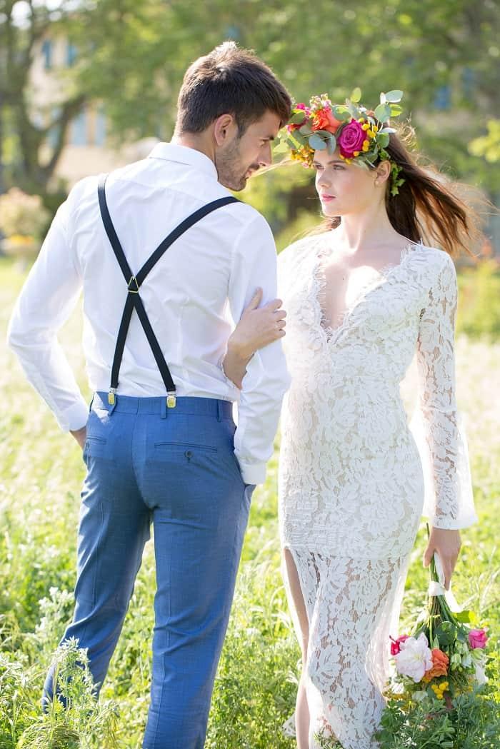 Inspiration : un mariage bohème wild