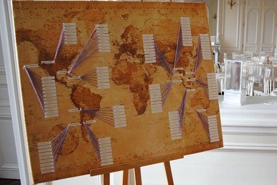 carte du monde 564
