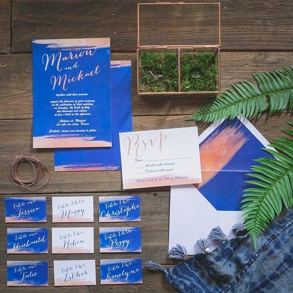 Inspiration : «Quelque chose de bleu», la tradition de mariage réinventée
