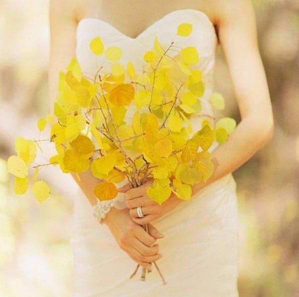 save the deco - bouquet feuille