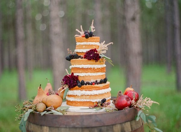 save the deco - naked cake