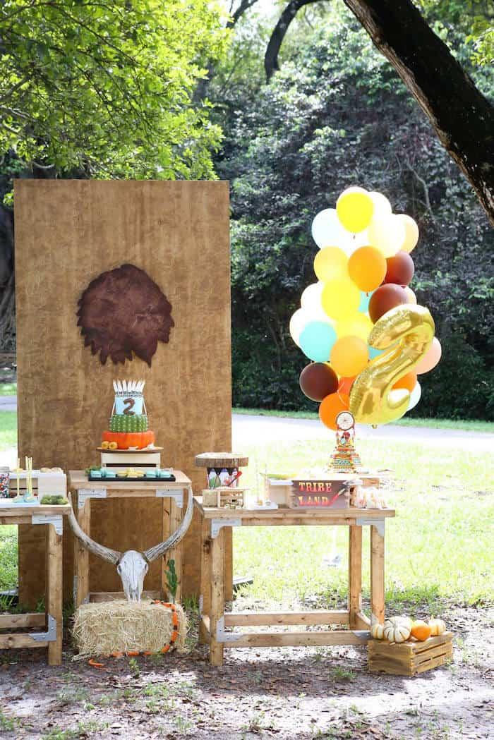 Bohemian-Camping-Themed-Birthday-Party-via-Karas-Party-Ideas-KarasPartyIdeas_com63