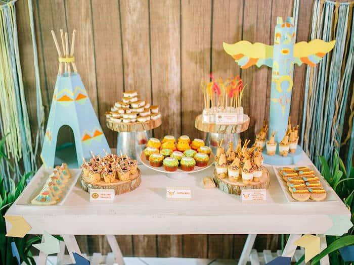 Camp-Rafa-Pow-Wow-1st-Birthday-Party-via-Karas-Party-Ideas-KarasPartyIdeas_com24