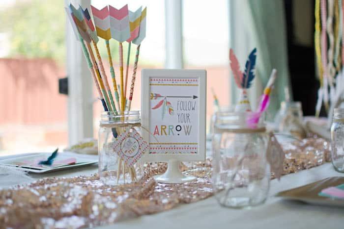 Tribal-Princess-themed-birthday-party-via-Karas-Party-Ideas-KarasPartyIdeas_com11