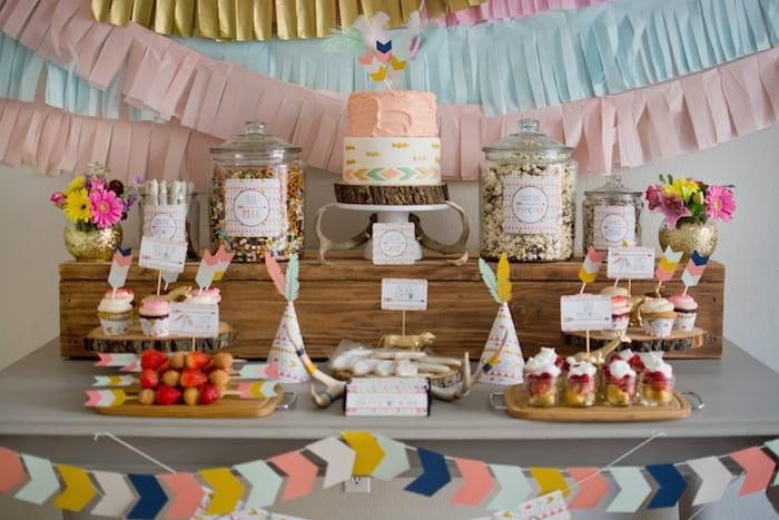 Tribal-Princess-themed-birthday-party-via-Karas-Party-Ideas-KarasPartyIdeas_com12