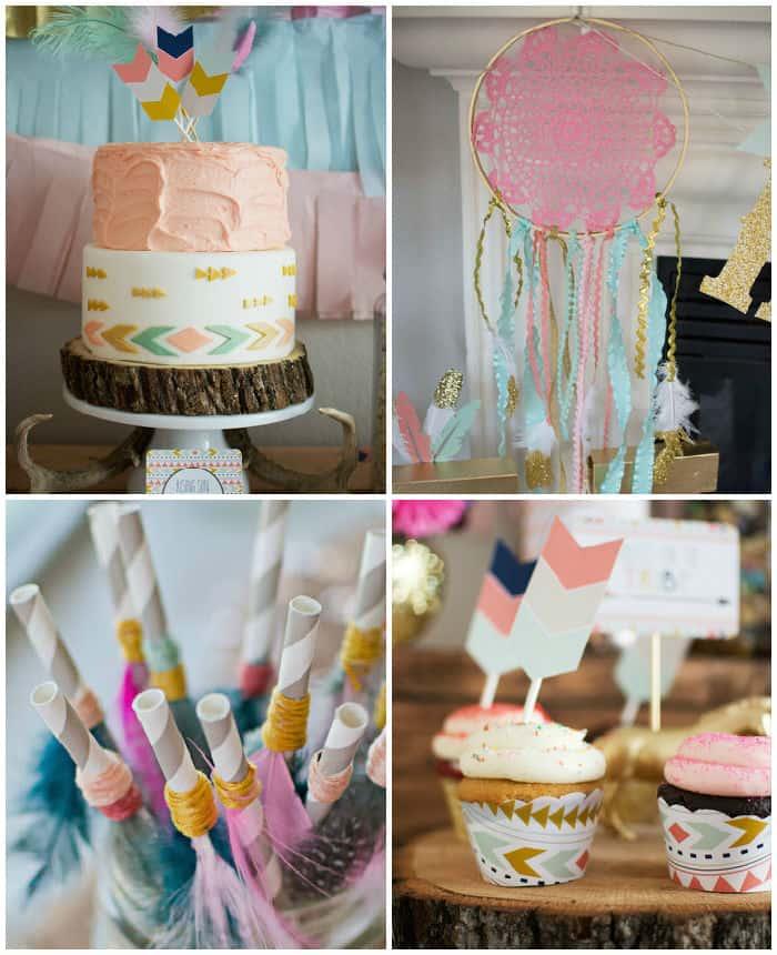 Tribal-Princess-themed-birthday-party-via-Karas-Party-Ideas-KarasPartyIdeas_com43