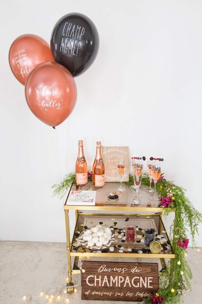 Le Bar à Champagne…Un vin d'honneur tendance et original !