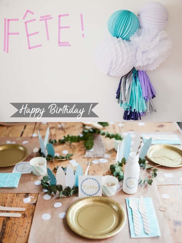 L'anniversaire de bébé en Automne/Hiver !