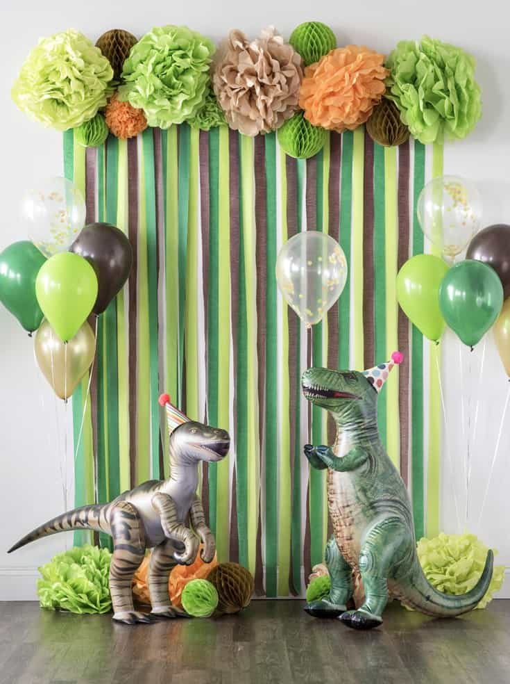 Deco Dinosaure Anniversaire
